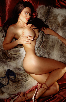 This incredible athletic brunette is dream of many men. She...
