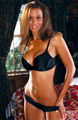 Andrea Simms is tall, tanned girl with long, golden hair who...