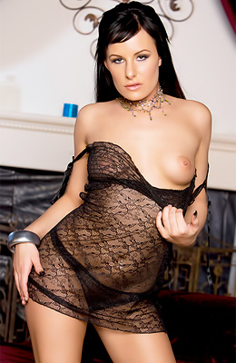 Brunette delicious Angel Couture knows that guys love...
