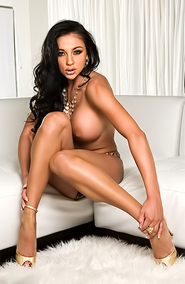 Audrey Bitoni is one of the hottest and baddest babes in the...