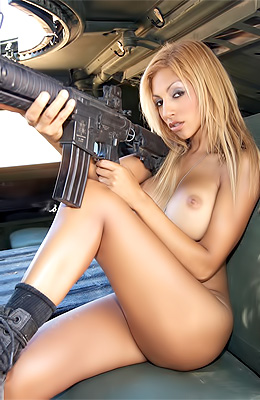 Army is what always made Daisy Sanchez super horny and that...