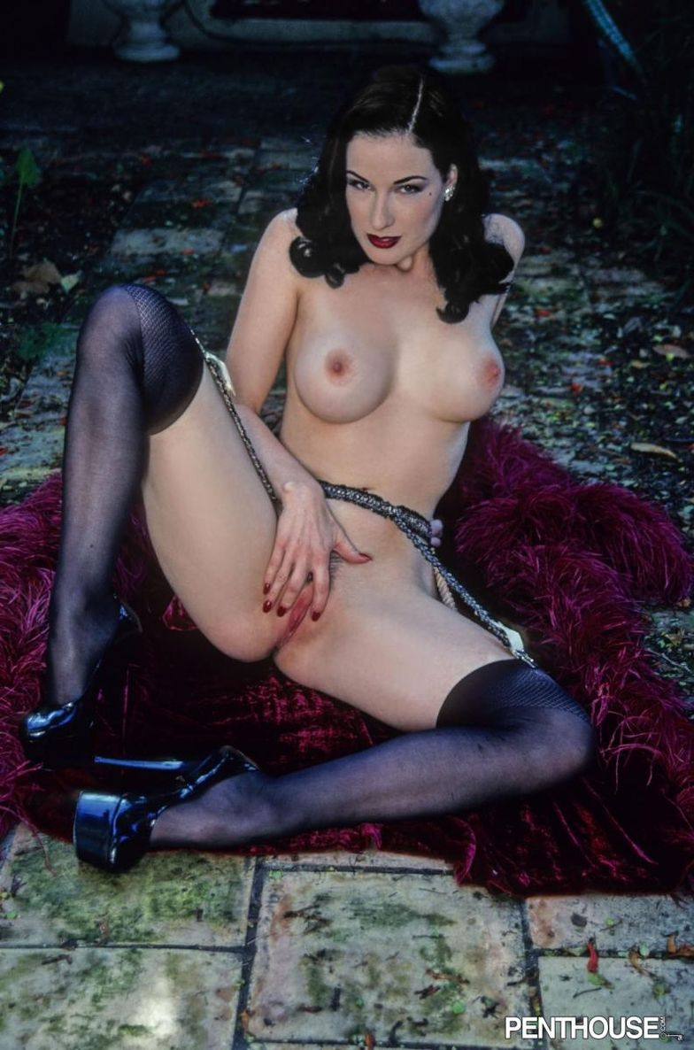 Dita von teese nude pussy apologise