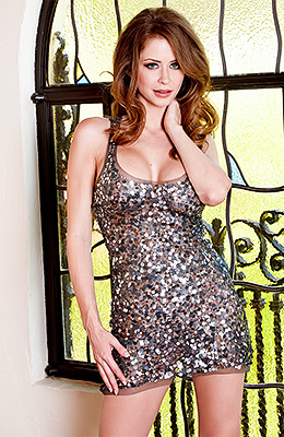 Dreamy redhead honey Emily Addison is up to no good again...