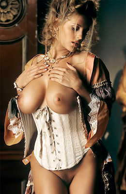 There is nothing big tit curly haired babe Ivonne Armant...