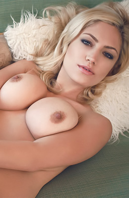 Talking of the perfect tits... Blonde angel Jade Bryce has...
