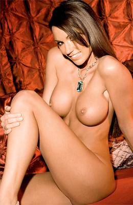 Glamorous Jamie Westenhiser has round natural tits and her...