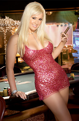 Jennifer Leigh can be seen at the poker tables but this time...