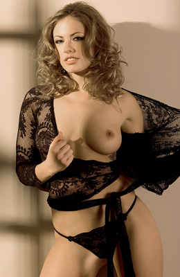 Curly haired blonde angel of seduction Jillian Grace needs...