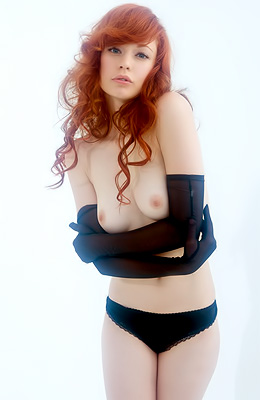 Here is one of the top rated red haired babes on Lustful...