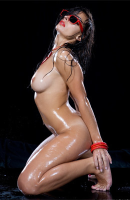 Wet and super horny! That is the easiest way to describe...