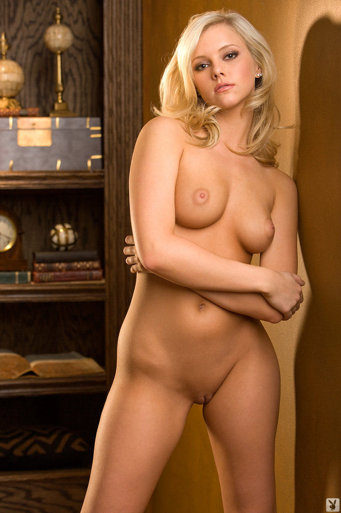 image Hot blonde bends over for peter north