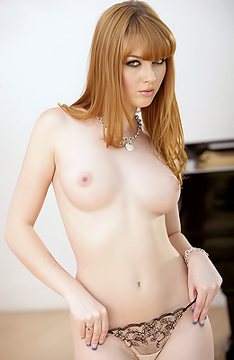 Sweet pale honey Marie McCray is showing off her perfectly...