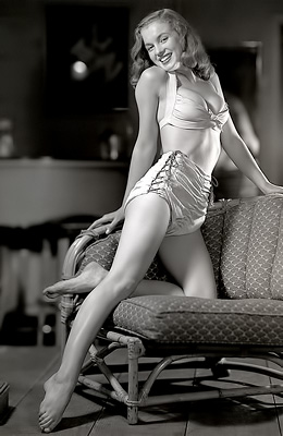 Popular actress Marilyn Monroe is one of the Playboy babes...
