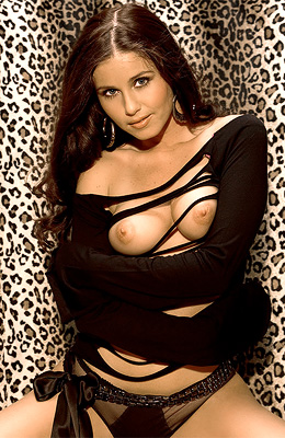 There is something about stunning brunette honey Nicole Voss...