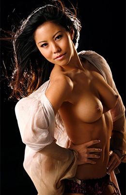Small titted girl, Rochelle Minami knows how to look...