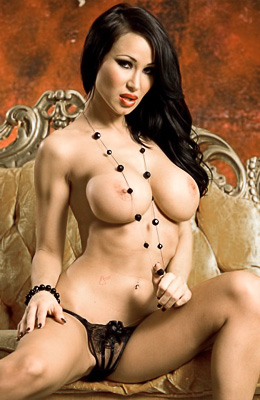 You don't want to miss a free gallery with brunette busty...