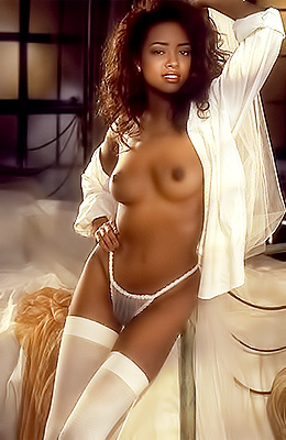 Stephanie Adams was a real treasure when she was discovered...