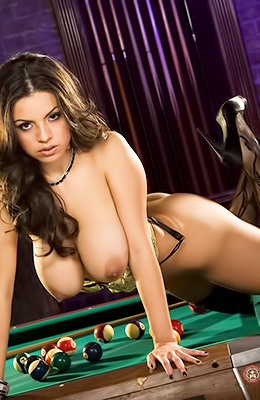 Yurizan Beltran is a gorgeous gal with wonderful dark hair...
