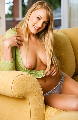 Blonde Megan Mooney may intimidate some guys but she has the...