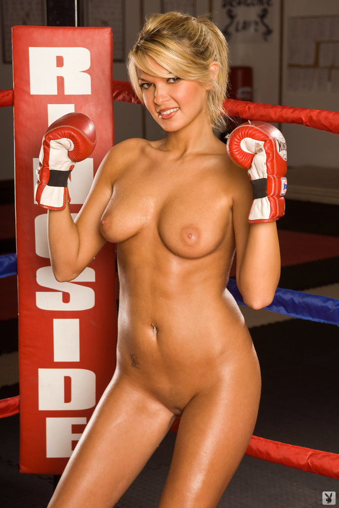 playboy boxing girl pics