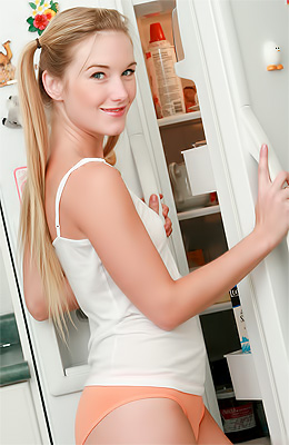 Cute and innocent looking blonde teen Private Jewel has just...